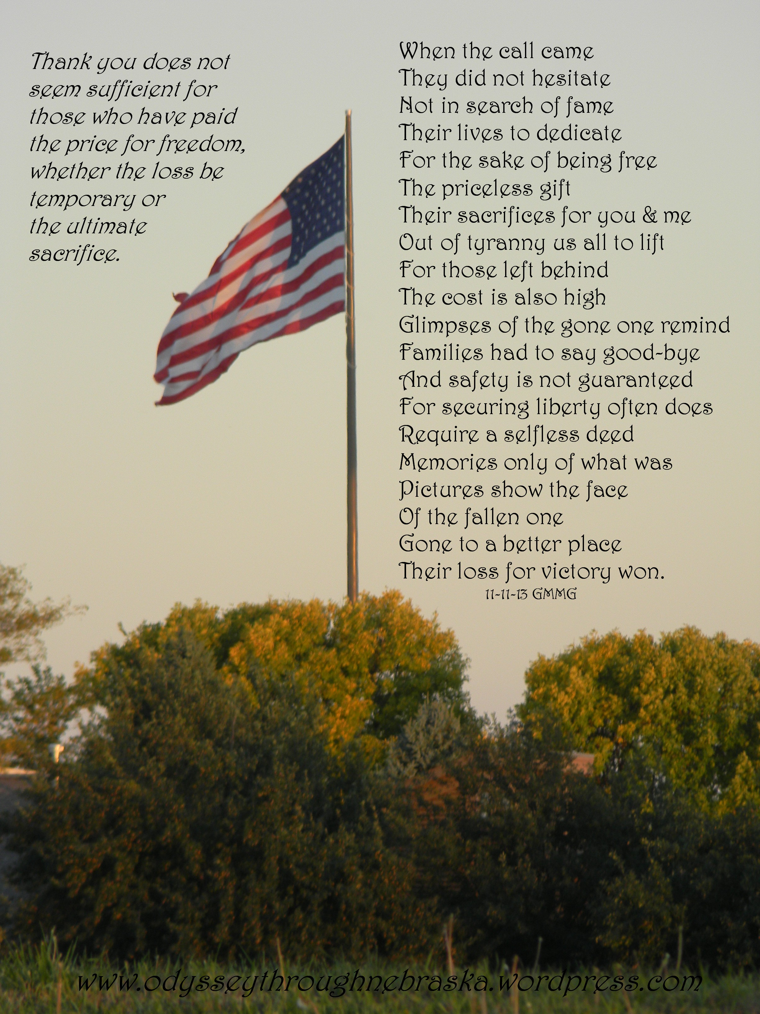 11-11 Veteran's Day Poem