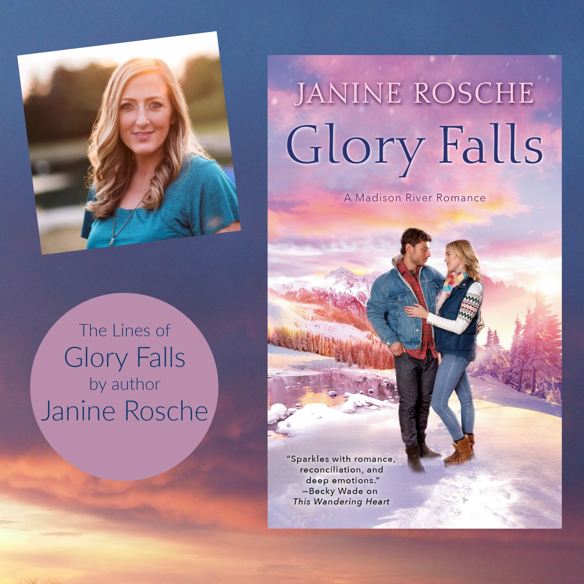 Glory Falls Madison River Romance Janine Rosche